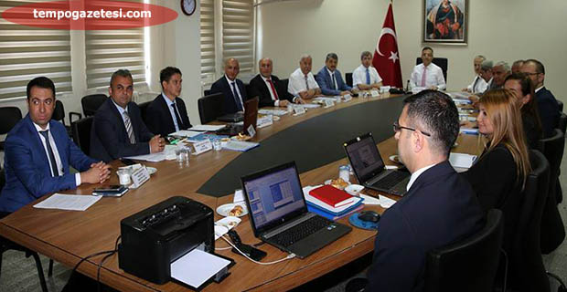 Vali Çınar, Bartın'da BAKKA yönetim kurulu toplantısına katıldı...