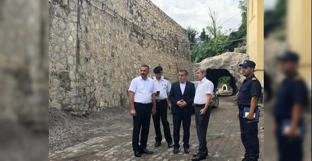 Vali Çınar, liman arkasında incelemelerde bulundu!..