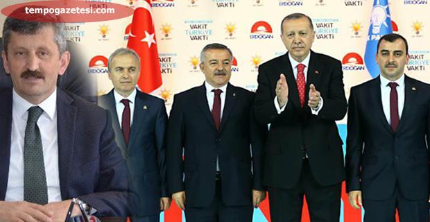AK Parti İl Başkanı ve Milletvekilleri ağırlığını koydu;  4 Vagonlu Tren seti geldi