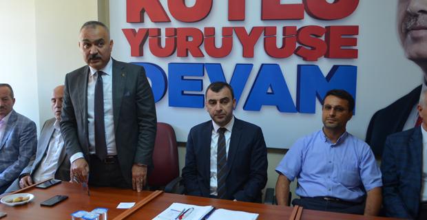 Çaycuma AK Parti İlçe Başkanlığı'na atandı...