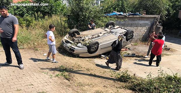 Çaydeğirmenin'de kaza: 4 Kişi Hastaneye kaldırıldı!
