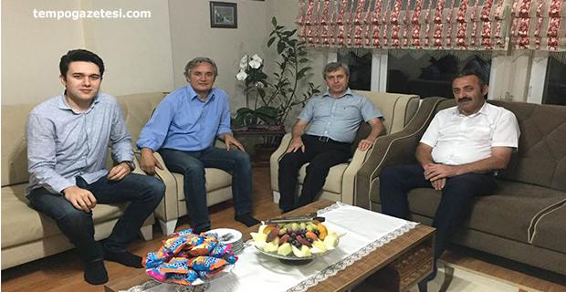 Çınar ve Turanlı'dan Ayan'a taziye ziyareti