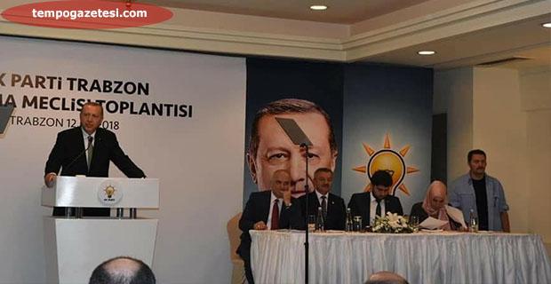 Erdoğan ve Türkmen Trabzon'da buluştu!..
