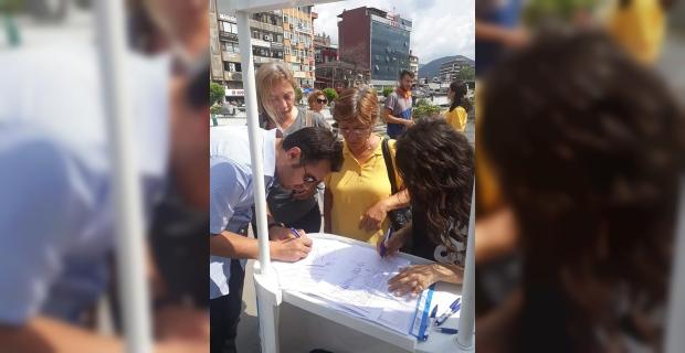 Gazipaşa için imza kampanyası başladı