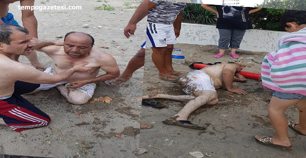 Kozlu Ilıksu Plajı'nda Sağlık skandalı. Az daha boğuluyordu!..