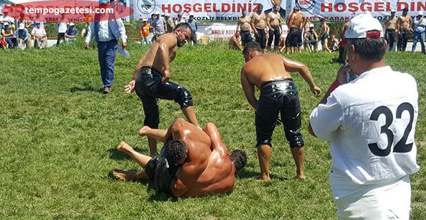 Kozlu'da Başpelivan Serhat Gökmen oldu!..