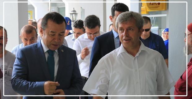Vali Ahmet Çınar'dan Çaydeğirmeni'ne çıkarma…