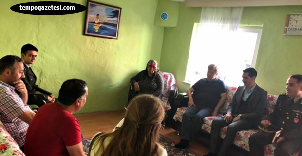 Vali ÇINAR'dan şehit ailesine ziyaret