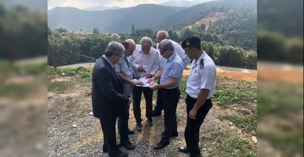 Vali Çınar, Kırat ve köyleri inceledi!..