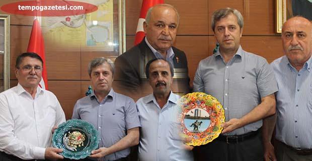 Vali Çınar'a teşekkür ettiler!..