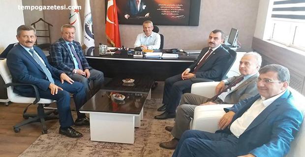 AK Parti'den Tosun'a ziyaret!..