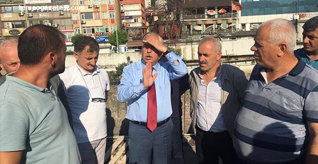 Başkan Akdemir, şoför esnafına sıkıntıyı anlattı!..