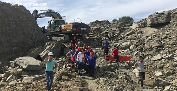 Hastane inşaatında göçük. 1 Kişi hayatını kaybetti