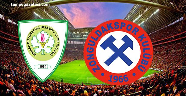 Manisa-Zonguldak maçının ilk 11'leri belli oldu