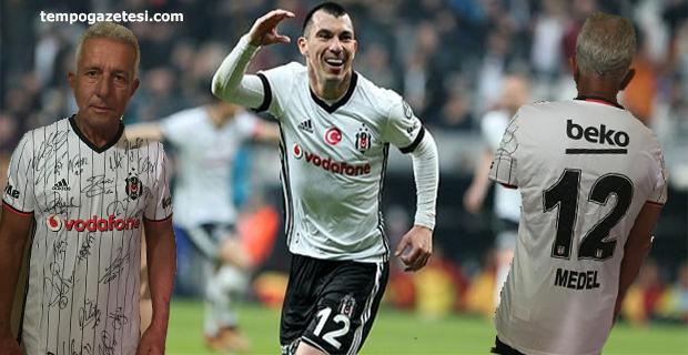 Mehmet Zekai Cangöz'e Beşıktaşlı Gary Medel'den sürpriz!..