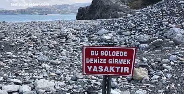 Sakın o plaja gitmeyin artık yasak!..