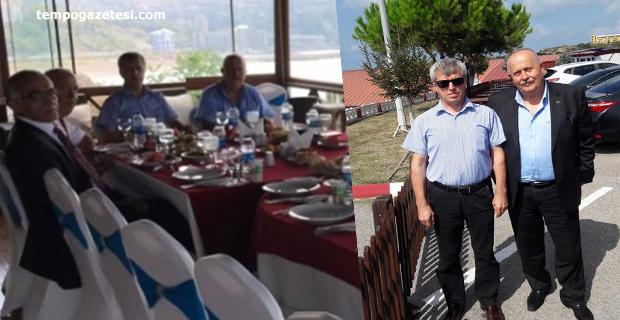 Vali Çınar'dan Kasap'a veda yemeği!..
