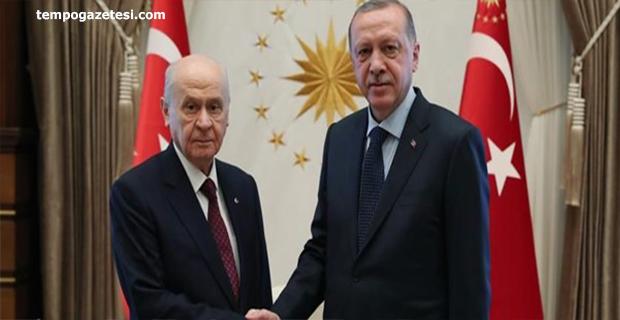 AKP-MHP arasında ittifak masaya yatırıldı!..