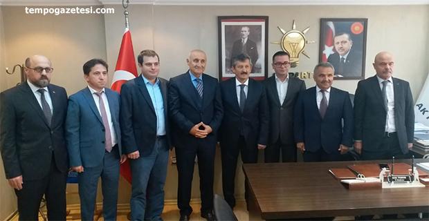 Baro'dan AK Parti'ye ziyaret!..