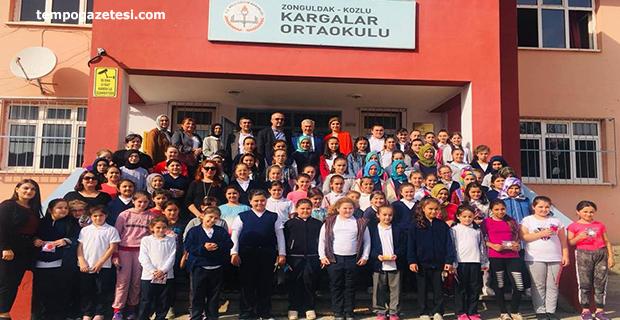 Kozlu Belediyesi kız çocuklarını unutmadı!..