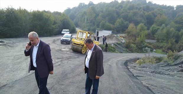 Özel İdare'den sıcak asfalt!..