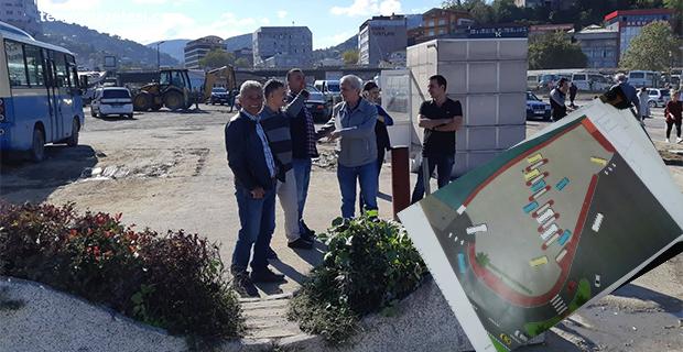 Uğur Mumcu kavşağında son düzenleme. Zonguldak simgesi geliyor!..