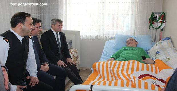Vali Çınar, Engelli vatandaşı mutlu etti!..
