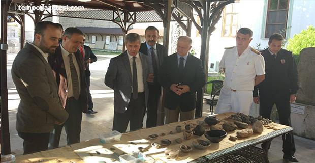 Vali Çınar, Ereğli Müzesinde!..