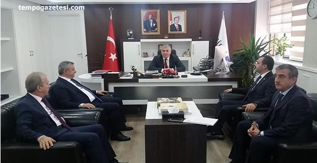 Vekiller, Enerji Bakan Yardımcısını ziyaret etti. Zonguldak'ı ve TTK'yı anlattılar!..