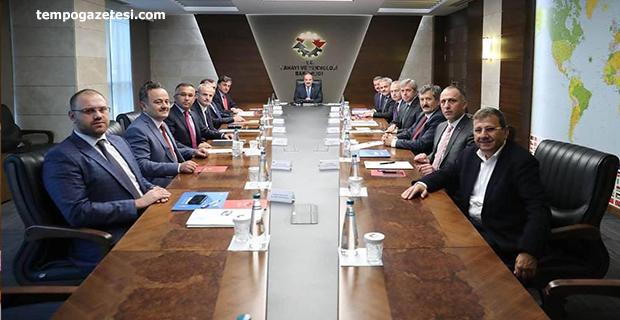 Zonguldak protokolü Bakandan destek istedi!..