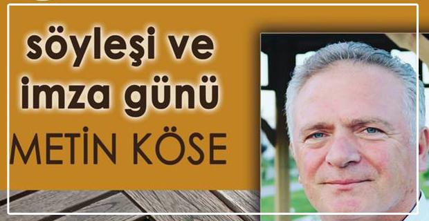Zonguldaklı yazar okurları için imzalayacak...