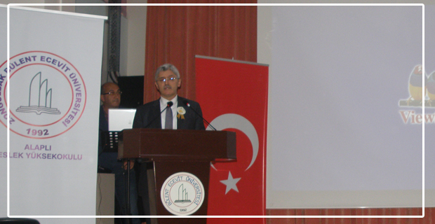 """BEÜ'de """"Peygamberimiz ve Gençlik"""" konulu konferans verildi"""