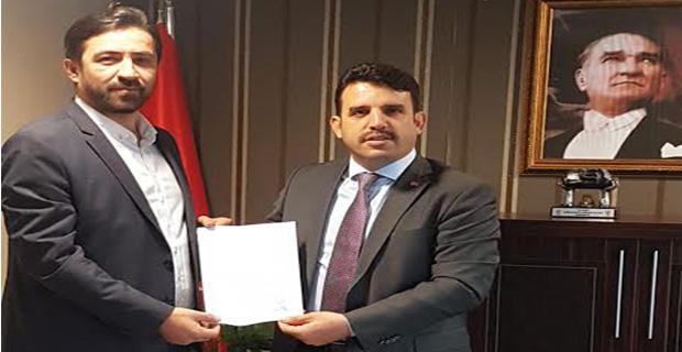 Gazeteci Bektaş, resmen aday adayı!..