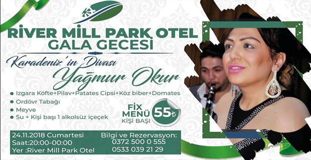Karadeniz'in Divası, River Mill Park'ta Gala Gecesine geliyor