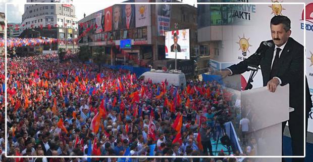 """Tosun, """"Zonguldak genelinde AK Belediyecilikle hayata geçirip hizmetlerimizi pekiştireceğiz"""""""