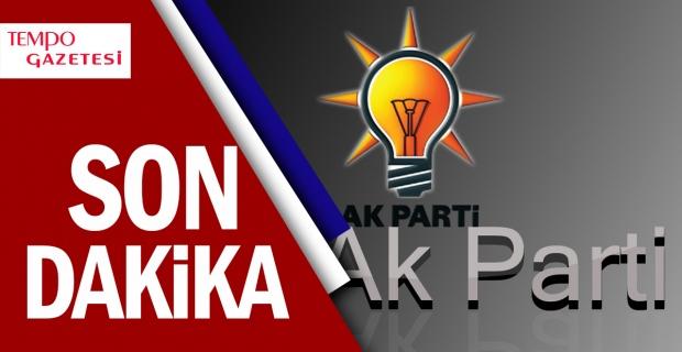 AK Parti çatısı altında yeri yok...