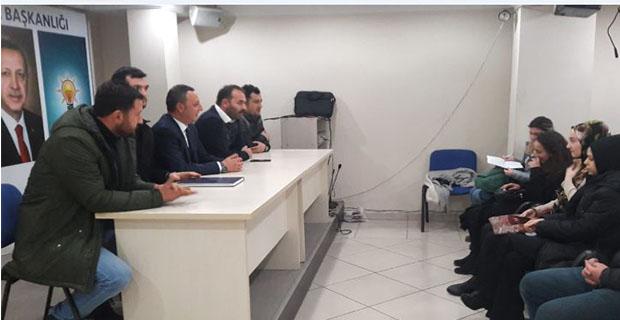 Başkan adayı Alan, İlk toplantısını gerçekleştirdi…