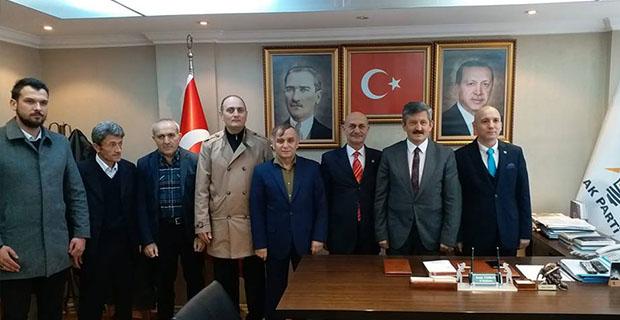 BBP'den AK Parti'ye ziyaret…