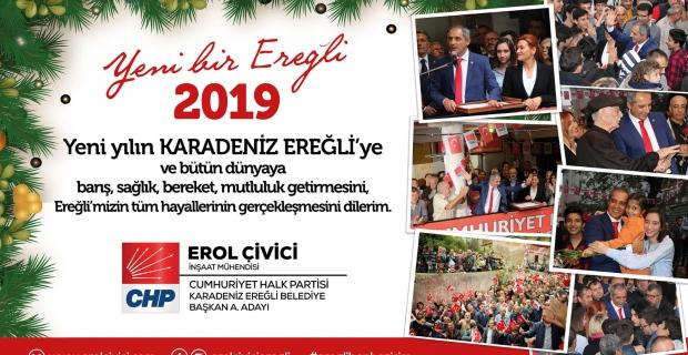 Erol Çivici'den yeni yıl mesajı...