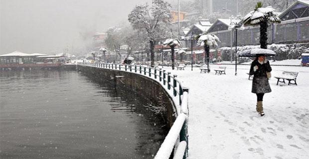 Kar geliyor!...