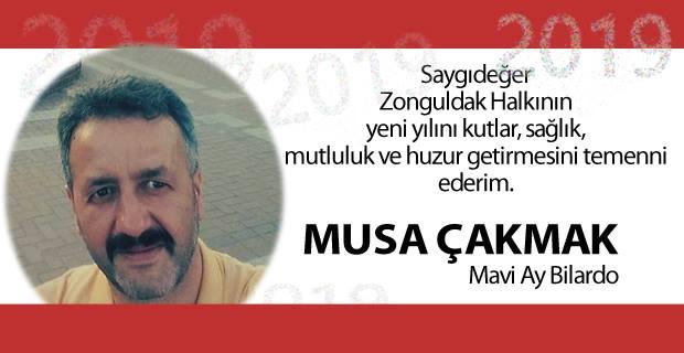 Musa Çakmak, 2019'u kutladı...