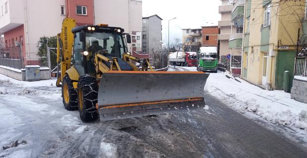 Gülüç'te Belediye çalıştı