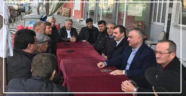 Milletvekili Ahmet Çolakoğlu, Karapınar adayına destek verdi