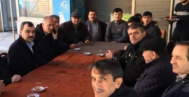 Milletvekili Çolakoğlu sahaya indi