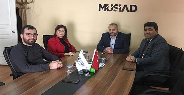 SGK ve İŞKUR İl Müdürlerinden MÜSİAD'a ziyaret…
