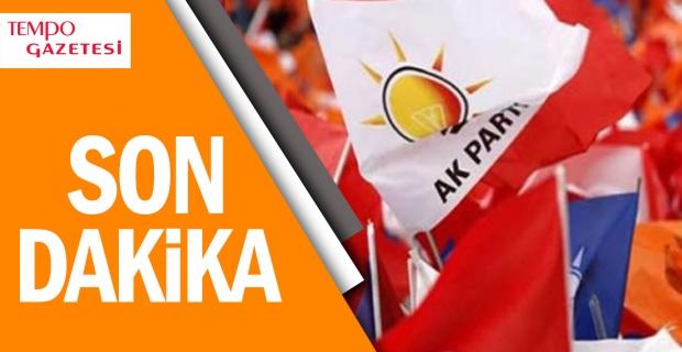 Şok… Şok… AK Parti'den istifa etti…