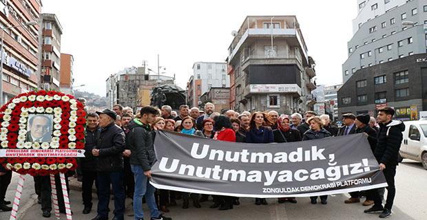Uğur Mumcu Zonguldak'ta anıldı