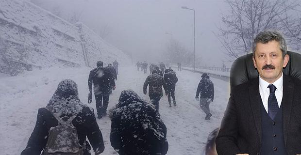 """Vatandaş Tosun'a seslendi; """"Merkez CHP'li belediyeleri suçlarken bu manzara aklınızda olsun"""""""
