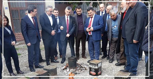 Vali Erdoğan Bektaş, tesisleri gezdi...