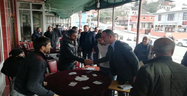 Zonguldak'ı karış karış geziyor!...